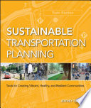 Sustainable Transportation Planning Book PDF
