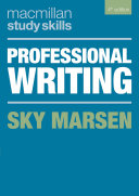 Cover of Professional Writing