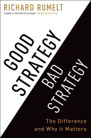 Good Strategy, Bad Strategy Book Cover