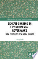Benefit Sharing In Environmental Governance Open Access