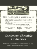 Gardeners' Chronicle of America