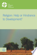 Religion Help Or Hindrance To Development