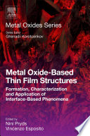 Metal Oxide Based Thin Film Structures