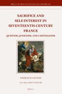 Pdf Sacrifice and Self-interest in Seventeenth-Century France