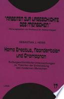 Homo erectus, Neandertaler und Cromagnon