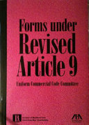 Forms Under Revised Article 9