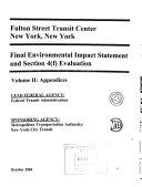 Fulton Street Transit Center  New York  New York  Section 4 f  Evaluation