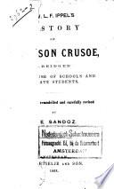 J W L F  Ippel s History of Robinson Crusoe