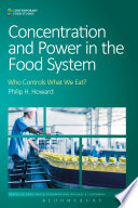 Read Online Concentration and Power in the Food System Epub