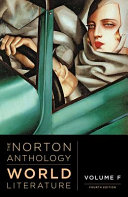 link to The Norton Anthology of World Literature Vol. F in the TCC library catalog