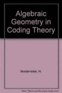 Algebraic Geometry In Coding Theory