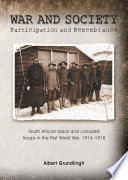 War and Society: Participation and Remembrance