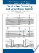Construction Dewatering and Groundwater Control Book
