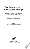 New Perspectives on Renaissance Thought