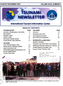 Tsunami Newsletter