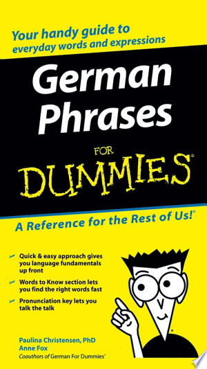 Download German Phrases For Dummies Free Books - Dlebooks.net