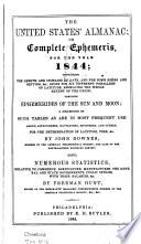 The United States' Almanac; Or Complete Ephemeris