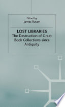 Lost Libraries