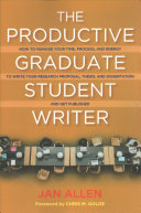 The Productive Graduate Student Writer