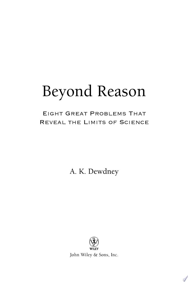 Beyond Reason banner backdrop