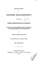 History of Western Massachusetts