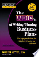 Rich Dad s Advisors    The ABC s of Writing Winning Business Plans