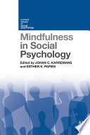 Mindfulness in Social Psychology