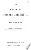 The Franklin Primary Arithmetic Book