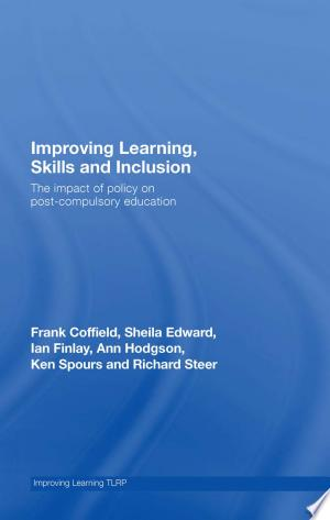 Download Improving Learning, Skills and Inclusion online Books - godinez books