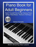 Piano Book for Adult Beginners