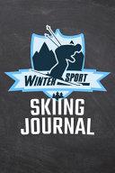 Winter Sport Skiing Journal