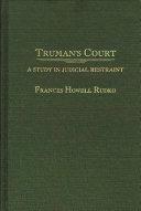 Truman s Court Book PDF
