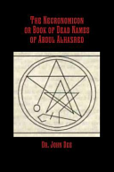 The Necronomicon Or Book of Dead Names of Abdul Alhazred