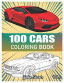 100 Cars Coloring Book