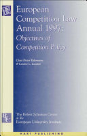 European Competition Law Annual 1997