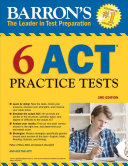 Barron s 6 ACT Practice Tests