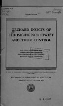 Orchard Insects of the Pacific Northwest and Their Control
