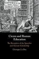 Cicero and Roman Education