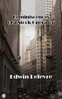 Reminiscences of a Stock Operator [Pdf/ePub] eBook