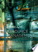 Critical Issues in Human Resource Management