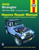 Jeep Wrangler Automotive Repair Manual