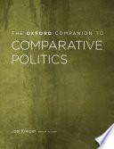 The Oxford Companion to Comparative Politics Book PDF
