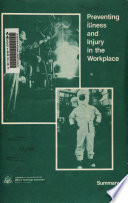 Preventing Illness and Injury in the Workplace