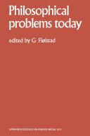 Pdf Philosophical Problems Today / Problèmes Philosophiques d'Aujourd'hui Telecharger