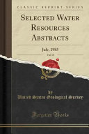 Selected Water Resources Abstracts, Vol. 18