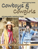 Adult Coloring Books Cowboys   Cowgirls