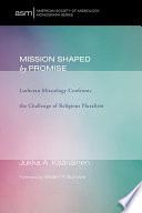 Mission Shaped by Promise Book