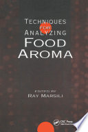 Techniques for Analyzing Food Aroma