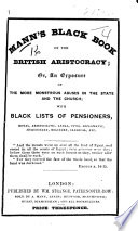 Mann s black book of the British aristocracy  etc