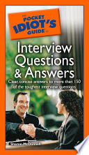 The Pocket Idiot s Guide to Interview Questions and Answers